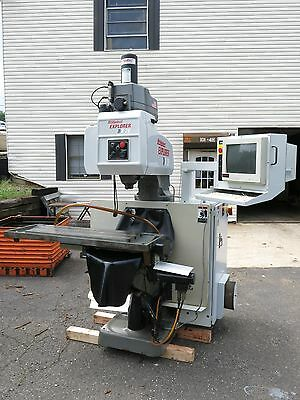 Nice Bridgeport Explorer X-26 CNC Milling Machine 1998