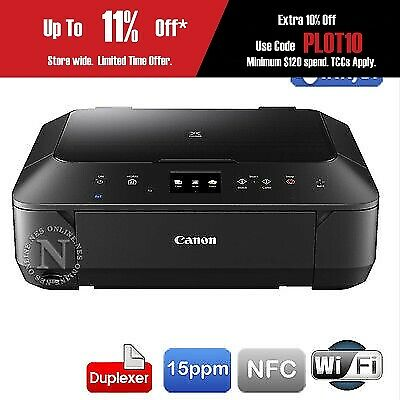 Canon PIXMA MG6860-BK 3in1 Wireless Color MFP Printer+BONUS:BLACK INK+PAPER KIT