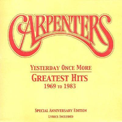 Carpenters - Yesterday Once More: Greatest Hits 1969-1983 [Remaster] New Cd