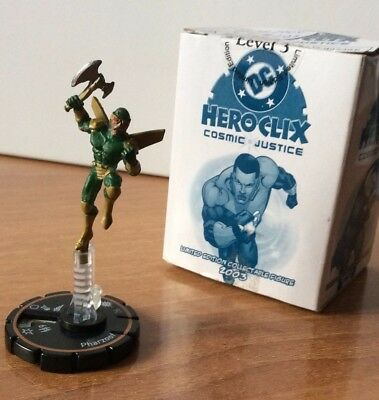 HeroClix Cosmic Justice #203  PHARZOOF  LE GOLD RING DC RARE