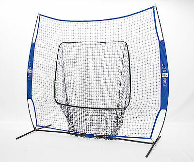 BowNet Big Mouth Extra/Replacement Net-Royale BowBM-R-ROYAL Baseball Net NEW