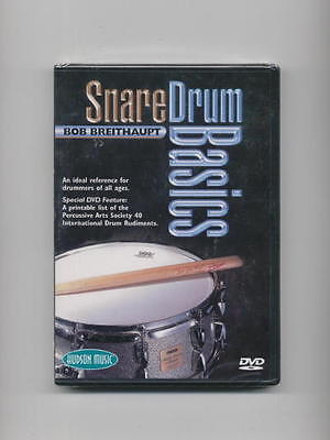 Snare Drum Basics Lesson *new* Drums Dvd  Drumset