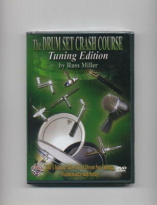 Drum Tuning How To Drum Set Crash Course Dvd *new*
