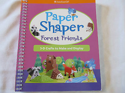 American Girl Paper Shaper Forest Friends 3-D Craft Book