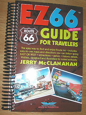 EZ 66 GUIDE for ROUTE 66 TRAVELERS with PRIORITY MAIL SHIPPING OPTIONS