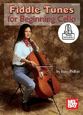 Fiddle Tunes For Beginning Cello *new* Book + Cd Set