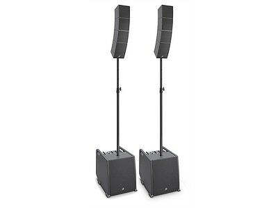 2x LD Systems CURV 500 ES - Portables Array System Entertainer Set