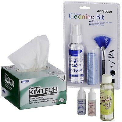 Microscope Operation and Maintenance Kit  - Immersion Oil & Cleaning Package
