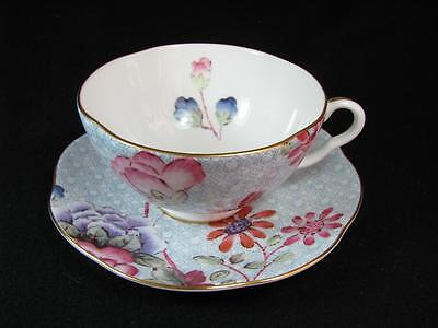 "VINTAGE WEDGWOOD Tea Story ""CUCKOO"" FINE BONE CHINA CUP SAUCER"