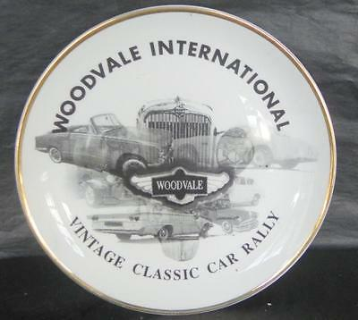 Staffordshire Bone China Commemorative Dish for Woodvale International Car Rally