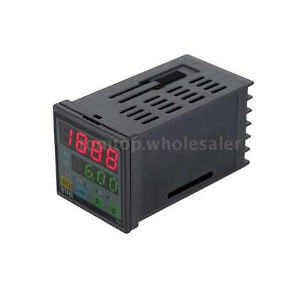 90-260V AC/DC Digital LED Timer Countdown Time Counter for Industrial Use W4K5