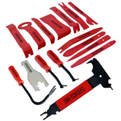 16Pc Car Auto Body Moulding Door Trim Clip Remover Panel Removal Tool Kit Tools