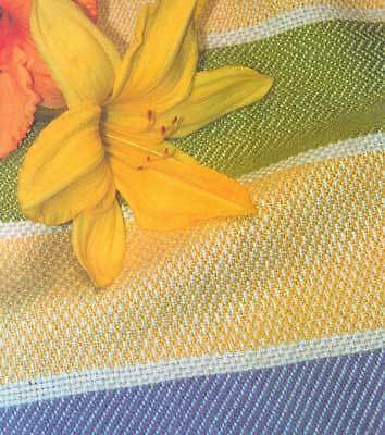 Weaver's Craft magazine #13: four-shaft twill sampler