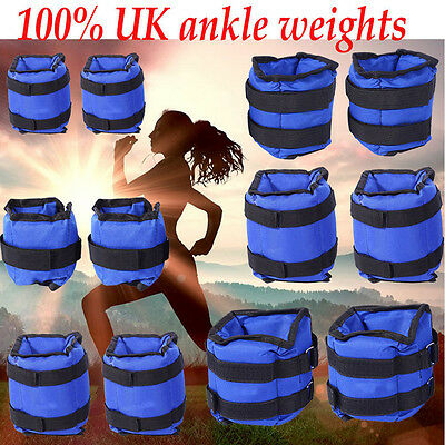 Ankle Wrist Leg Weights Running Exercise Fitness Gym Strength Training Workout