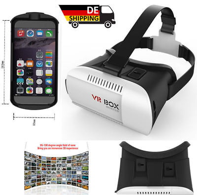 Google 3D Virtual Reality VR Brille +Bluetooth Control→HTC ONE MAX M9 DESIRE 816
