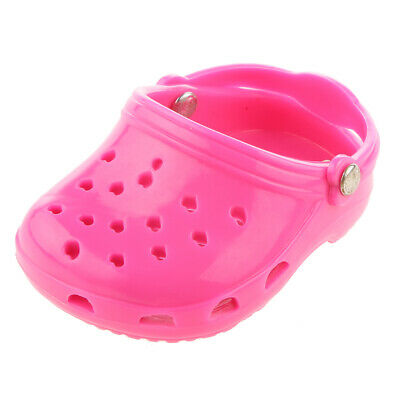 """Pink Beach Sandals Shoes Slippers Accessories for 18"""" American Girl Dolls"""