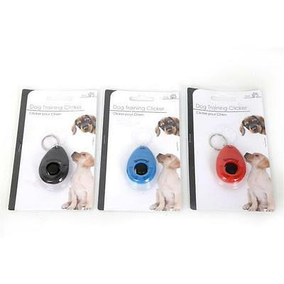 Pet Dog Puppy Training Clicker Trainer Obedience Aid Click