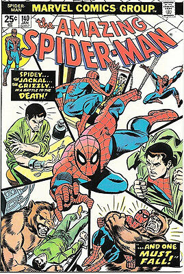 the Amazing Spider-Man Comic Book #140, Marvel Comics 1975 NEAR MINT