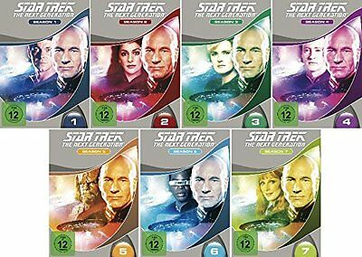 48 DVDs * STAR TREK - THE NEXT GENERATION  STAFFEL 1 - 7  MB # NEU OVP +