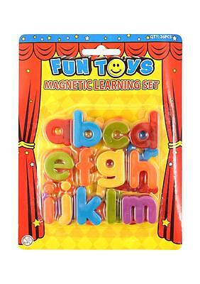 Magnetic Letters Childrens Kids Learn Alphabet Toy Fridge Magnets