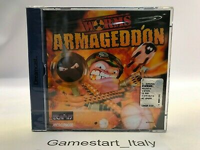 Worms Armageddon - Sega Dreamcast - New Sealed Pal Version