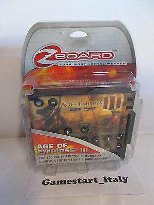 Steelseries Age Of Empires Iii - Limited Edition Keyset For Zboard - Pc - New