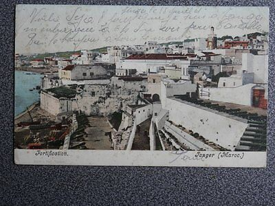 Tanger Frotification Postal Año 1920