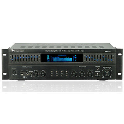 Technical Pro RX113 Receiver & Equalizer 1500 Watt New