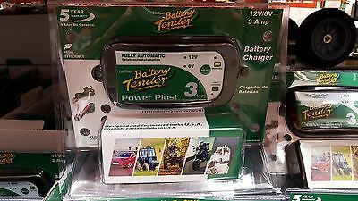 Deltran Battery Tender Power Plus 3A 12v 6v High Efficiency Charger ATV jr 3 AMP