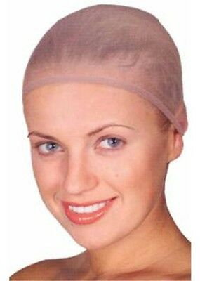 Wig Hair Cap Nude Breathable Stocking Nylon Stretch Hair Net Unisex