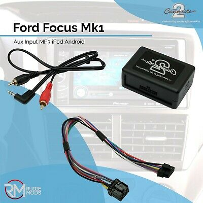 Connects2 CTVFOX001 Ford Focus Mk1 Music Aux Input Adapter MP3 iPod Android