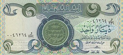 Cr 0072 Billete Iraq One Dinar