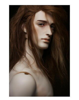 brand new 1/3 bjd doll handsome male big muscle with free eyes L