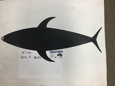 Marlin Mudflaps Tuna Mudflaps  27 Inch Qty 2 Promotional Deal From Wizard Tackle