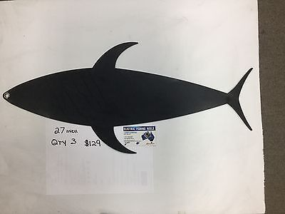 Marlin Mudflaps Tuna Mudflaps  27 Inch Large Promotional Deal From Wizard Tackle