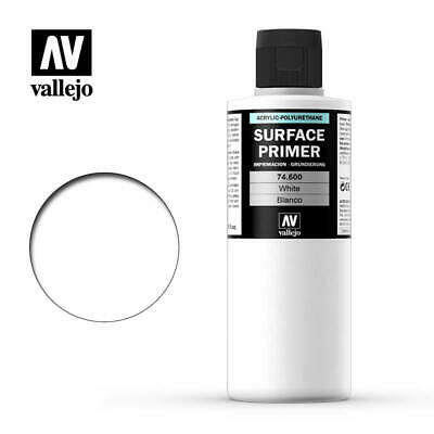 Vallejo Airbrush Paint - Model Air - Surface Primer White 200Ml - 74.600