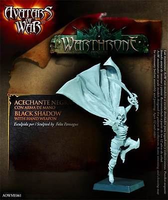 AVATARS OF WAR - AOW61 Black Shadow with Hand Weapon