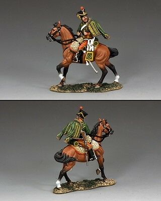 KING AND COUNTRY Napoleonic Mounted Hussar NA315