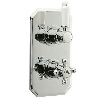 Hudson Reed Traditional Twin Concealed Thermostatic Shower Valve