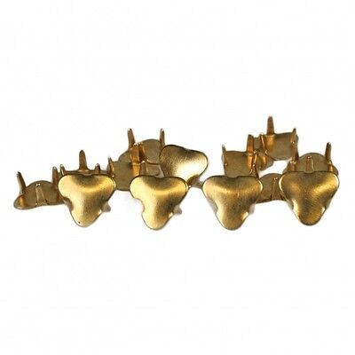 2 pairs of Brass Toe Protector for pointed shoes or boots