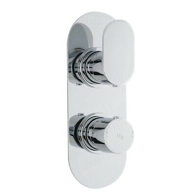 Hudson Reed Reign Twin Concealed Mixer Shower Valve with Diverter