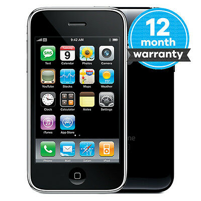 Apple iPhone 3GS - 16GB - Black (O2 Network) Smartphone Good Condition