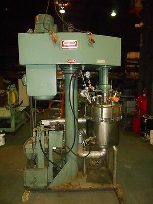 20 Gallon Myers Tri-Shaft Mixer - S/s - Xp - 300 Psi Int - 150 Psi Jacketed