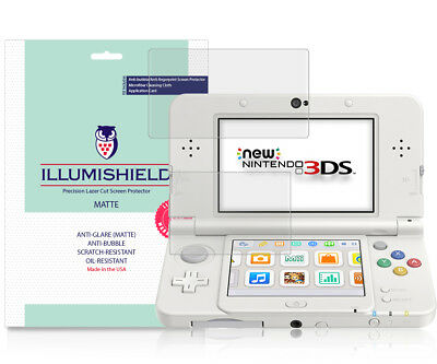 iLLumiShield Matte Screen Protector 3x for New Nintendo 3DS Standard 2015