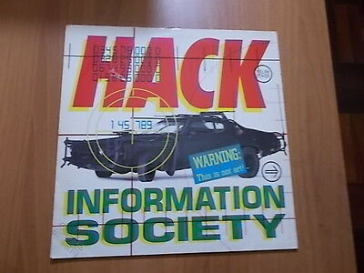"12"" Information Society - Hack 1990"