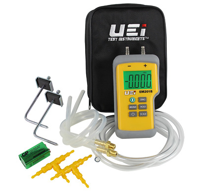 UEI EM201SPKIT Dual Digital Differential Manometer Static Pressure Kit