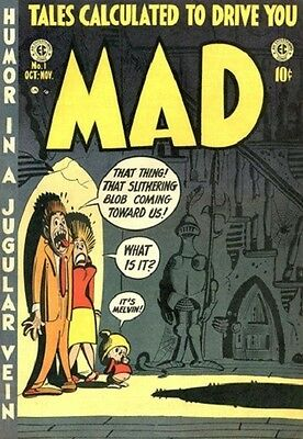 First Issue of MAD Comics RARE!
