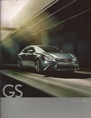 2013 13  Lexus GS original sales brochure