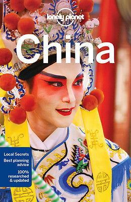 CHINA Lonely Planet Travel Guide Large Book