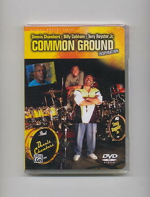 Dennis Chambers - Billy Cobham *new* Drum Drums Dvd